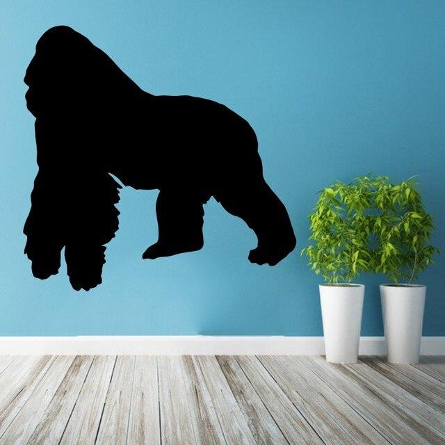 Wunderbar Wandtattoo Vinyl Aufkleber King Kong Gorilla Abnehmbaren Schlafzimmer  Wohnzimmer Haus Zubehör Dekoration Hintergrund Dekor DIY WW