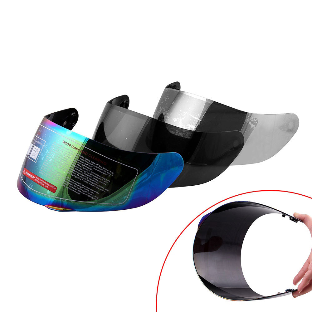 Image 2 - Motorcycle Helmet Lens Full Face Glasses For AGV K3 SV K5 Motorcycle Helmet Cover Multi color Universal Motorcycle Accessories-in Helmets from Automobiles & Motorcycles