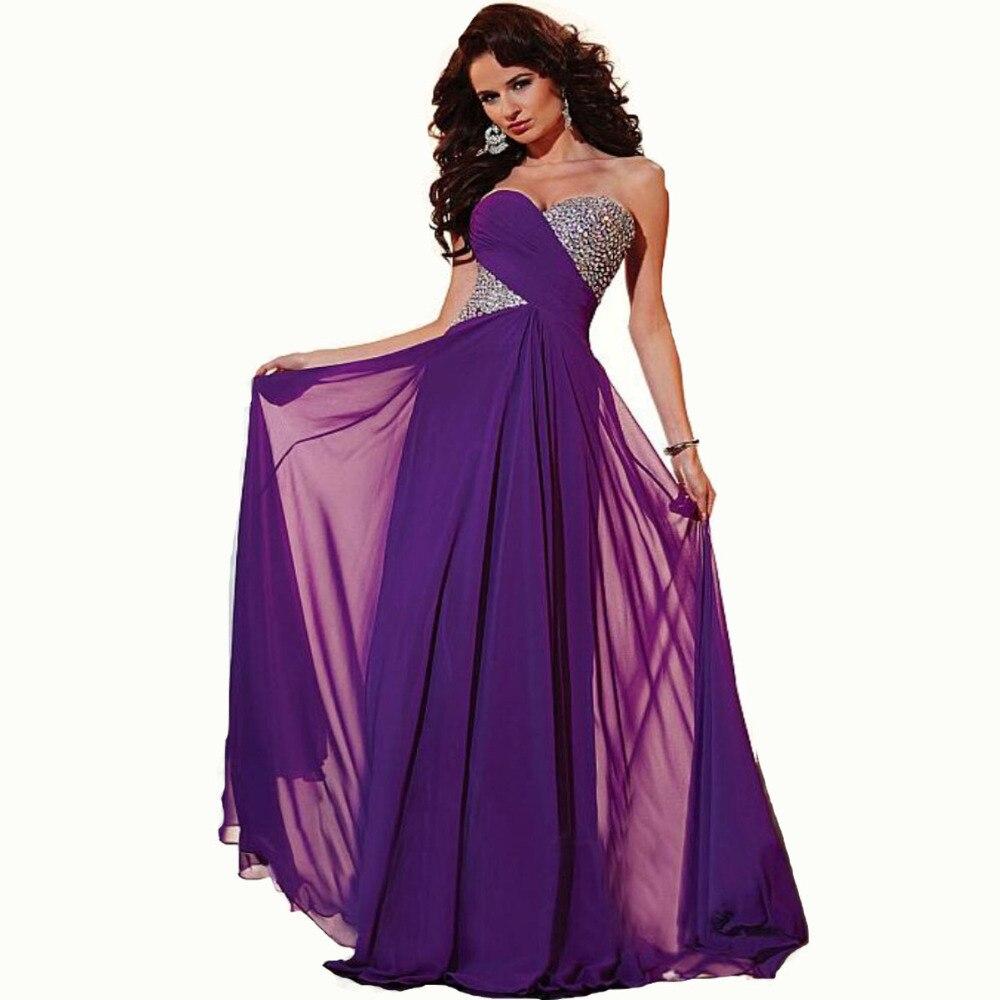 Online Get Cheap Purple Chiffon Gown -Aliexpress.com | Alibaba Group