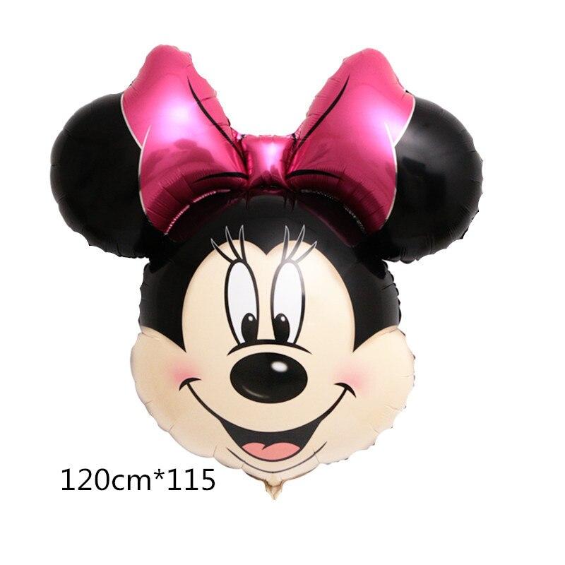 Все манеры Микки Минни воздушные шары на день рождения надувные декорации для вечеринки воздушные шары Детские Классические игрушки мультфильм шляпа - Цвет: 5