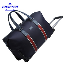 BOPAI High Quality Trolley Luggage Waterproof Travel Bags with Wheels Large Capacity trolley travel bag rolling luggage bags