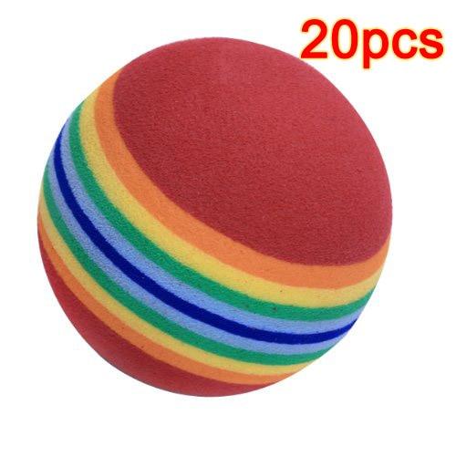 ELOS-20pcs Golf Balls Of Sponge For Training