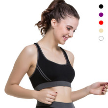 Women Sexy Seamless Yoga Shirts Sport Bra Top Comfortable Bra Push up For Yoga Sports Sleep Fitness Clothing