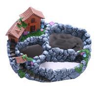 WINOMO Fairy Garden House Planter Miniature Gardening Mini Pot for Succulents Cactus Plants Flowers