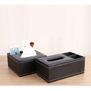 Image 4 - Boîte à mouchoirs en bois Style Vintage