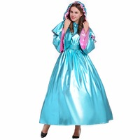 Cosplaydiy Custom Made Cinderella Fairy Godmother Dress Outfit Costume Adult Women Witch Halloween Costume