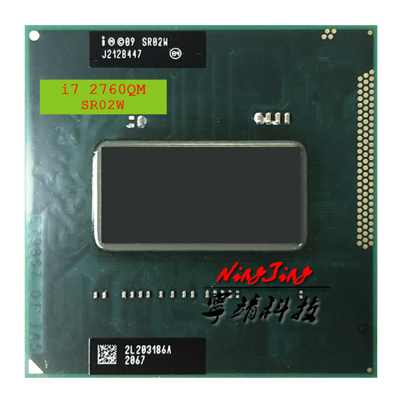Intel Core i7 2760QM i7 2760QM SR02W 2 6 GHz Quad Core Eight Thread CPU Processor