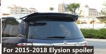 for 2016 to 2018  honda Elysion primer black or white color paint rear trunk spoiler For Honda elysion rear wing spoiler цены