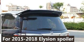 for 2016 to 2018  honda Elysion primer black or white color paint rear trunk spoiler For Honda elysion rear wing spoiler