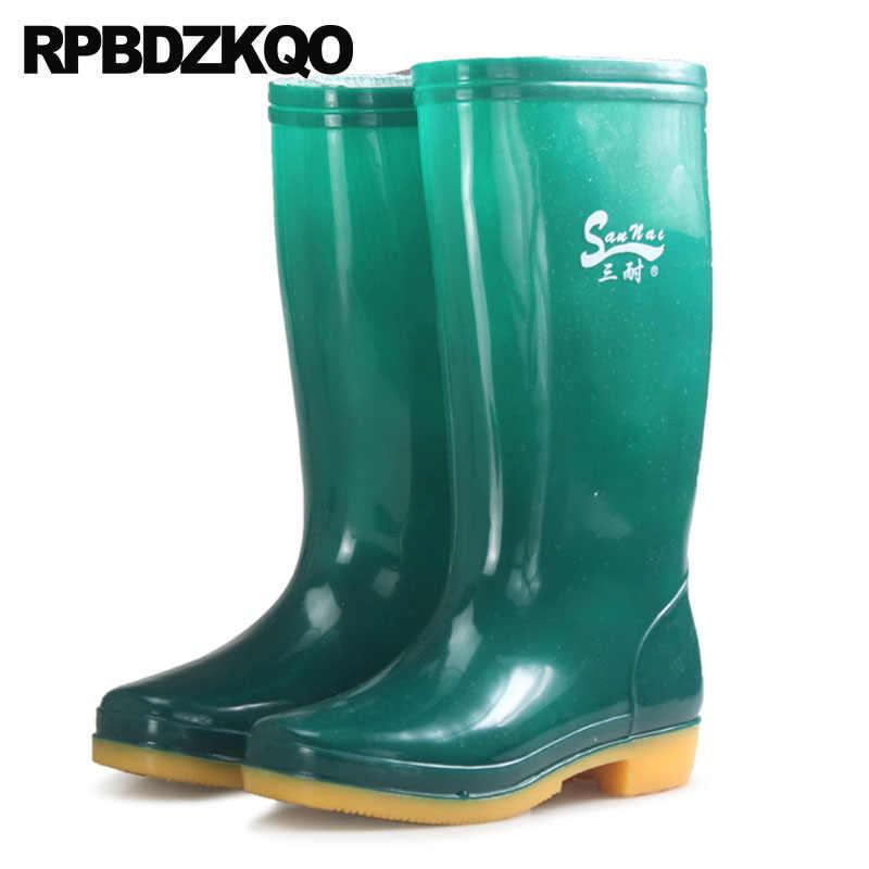 Mens Rubber Rain Boots Cheap Waterproof