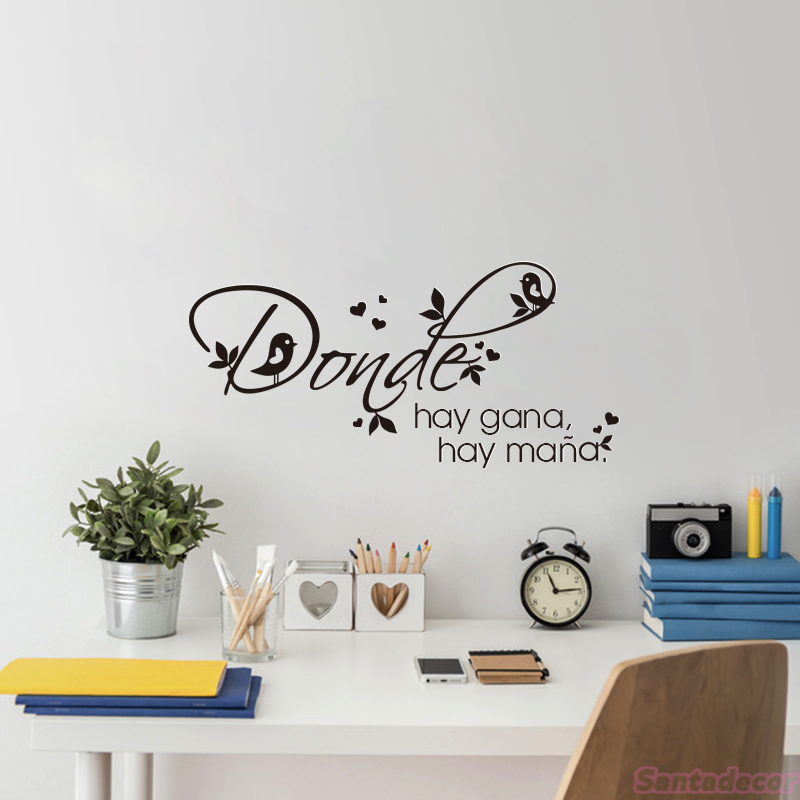 Quote Stronger Wall Sticker Vinyl Wall Art Decor Decoration Decal Mural Poster