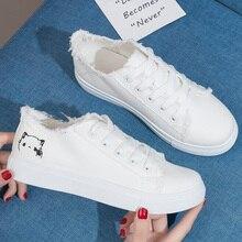 Women Sneakers 2018 Fashion Women Vulcanized Shoes Sneakers Ladies Lace-up Casua