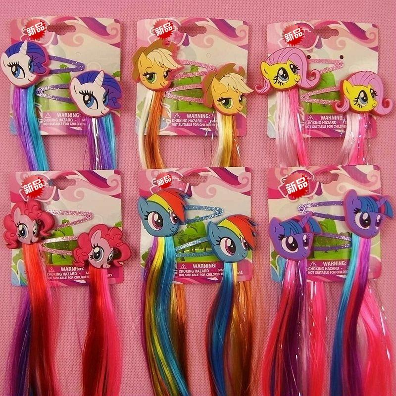 Paquete de regalo 2018 My Cute little Unicorn Headwear Garras para el cabello Bandas Moda Dibujos animados Diademas Accesorios para el cabello para niña