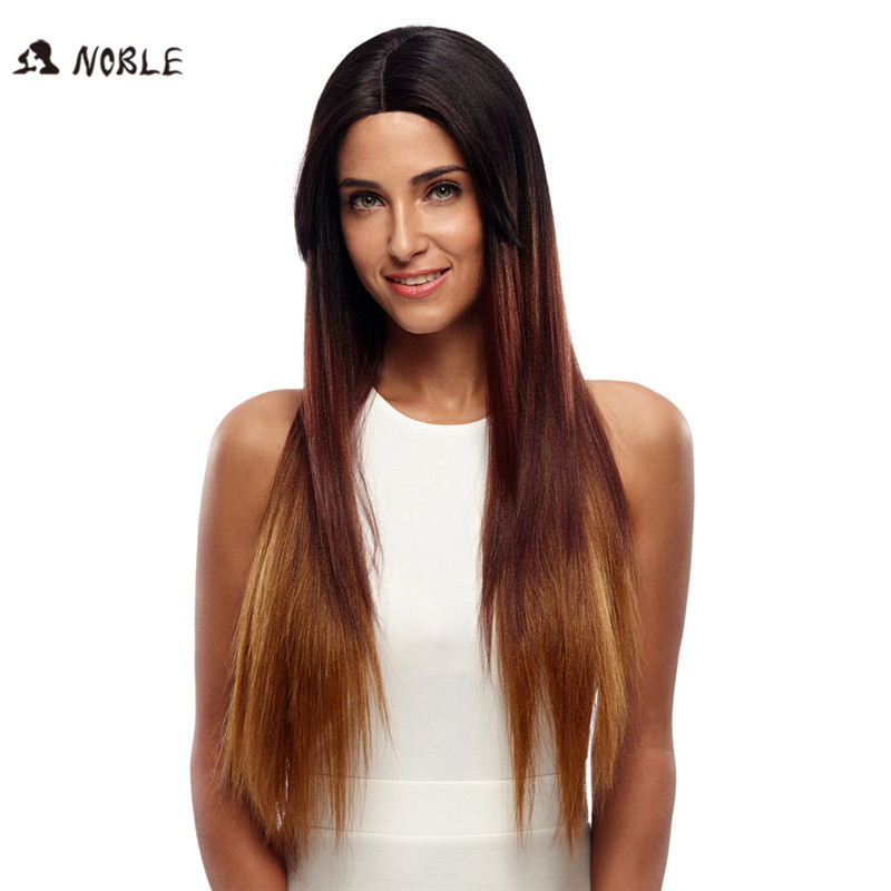 Noble Wigs For Black Women Straight New Lace Front Wig Synthetic Hair 30