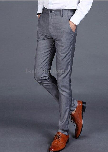 Slim 2018 Costume Bureau Fit Hommes Pantalon Robe De qPOIq