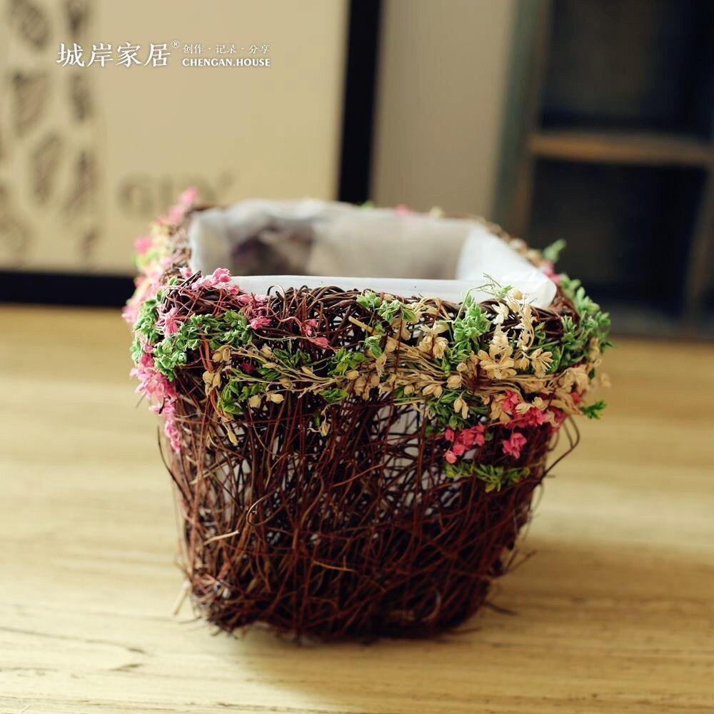 High Grade Simulation Manual Flower Plastic Flower Cane Vase