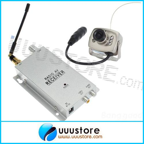 2015 Time-limited Special Offer free Shipping 1.2ghz Wireless Camera Kit Radio Av 1.2ghz Receiver with Power Supply