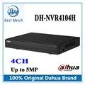 2016 Original Dahua NVR 4CH NVR4104H até ao nível do Projecto de 5Mp 1080 P Onvif Network video recorder