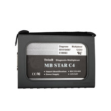 High Quality MB Star C4 Diagnosis Compact 4 for Cars and Trucks Without Software HDD Free Shipping