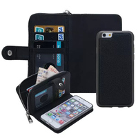 Coque Cases For IPhone 6 Plus 5 5inhc Luxe Leather Cover Flip Wallet Card Slot Cell
