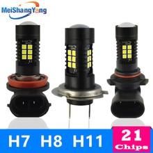 цена на H7 H8 H11 Led Bulb HB4 Led Bulbs HB3 9006 9005 SMD Lights 1200LM 6000K 12V White Driving Running Car Lamp Auto Light Bulbs 24V