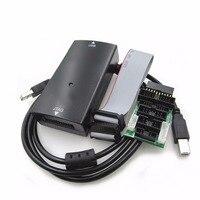 LINK V9 Emulator Kit Simulator with Convert Board USB Cable AMR Emulator Debugging Tools Support JTAG/Cortex/STM32 Black