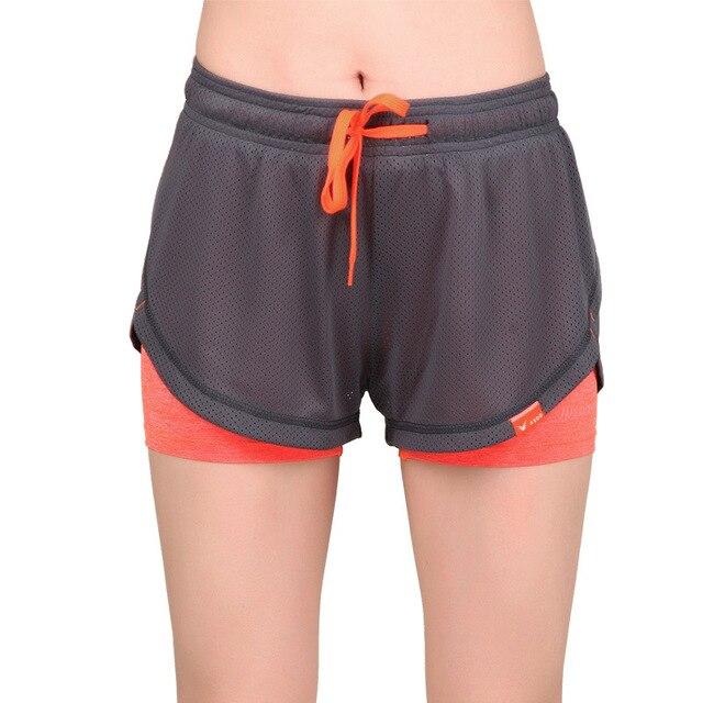 ad71b294b9 Shorts de Corrida das mulheres Yoga Calções de Corrida de Fitness Calças  Curtas da senhora Poliéster