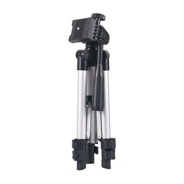 Универсальный Портативный штатив для цифровой камеры, видеокамеры, штатив, подставка, кронштейн для фонарь, легкий алюминиевый для Canon, Nikon, Sony, EM88