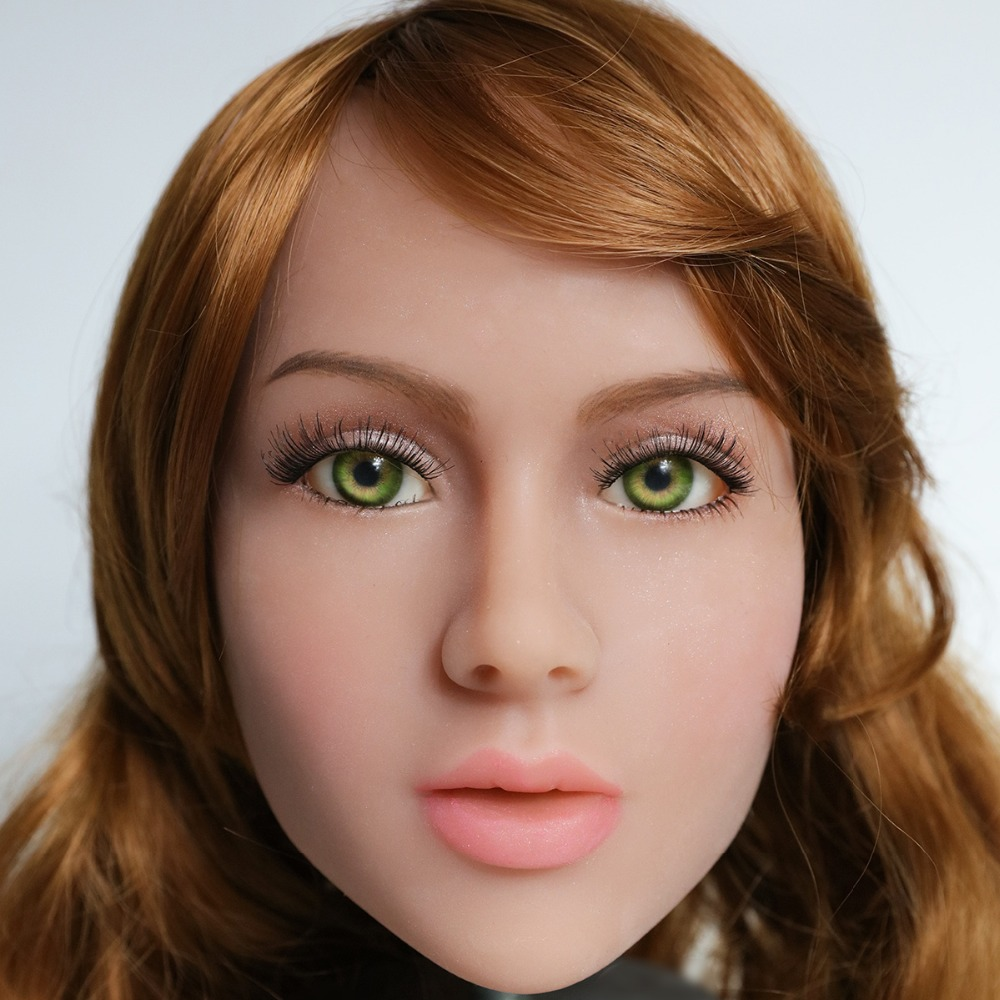 2017 Newest Top Quality Head 15# Big Doll's Head Tan Skin Sex Doll Head for Silicone Sex Doll Suitable For More Than 140cm Doll 2017 newest top quality head 56 big doll s head tan skin sex doll head for silicone sex doll suitable for more than 140cm doll