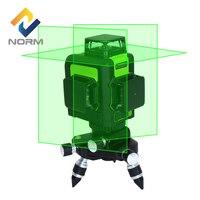 Нормы лазерный уровень 12 линия строительные инструменты зеленый лазерный уровень 360 Мини Стиль наливные лазерный уровень с регулировкой кр