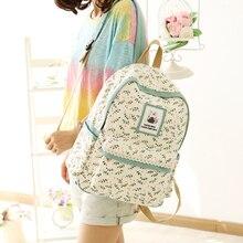 Женщины рюкзак для школы для девочек-подростков сумки Ананас милый Back Pack Холст печати рюкзаки Mochila Feminina