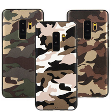 Shockproof Soft Silicone camouflage Case For Samsung Galaxy s8 s10 s9 Plus Note 8 9 A8 A6 A7 J4 J7 J3 Plus prime 2018 2017 Cover for samsung galaxy note 9 8 a7 shockproof cover business cases for samsung s9 s8 a6 a8 plus j2 j3 j4 j6 j7 j8 soft silicone case
