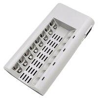 8 Slots Smart Schnelle Ladegerät Für Aa Aaa Ni Mh/Ni Cd Akku & Stecker (Eu Stecker)-in Batteriezubehörteile aus Verbraucherelektronik bei