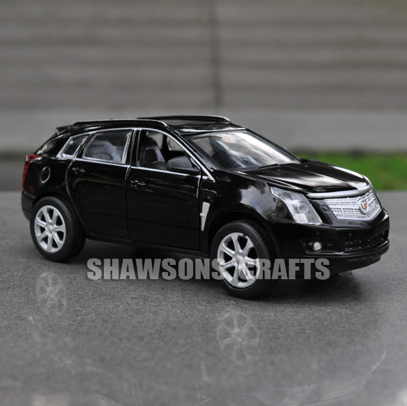 diecast metal 132 model car toys sound light pull back cadillac srx replica