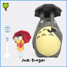 Г-н Froger Studio Ghibli Тоторо Игрушки Хаяо Миядзаки Зонтик Цифры Японский Действий Аниме Chibi Миниатюрные Фигурки Животных