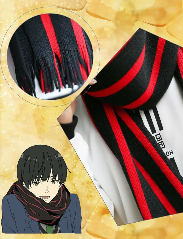 The Realm Of His Future Cosplay Akihito Scarf Cosplay Costume Cool Movie Party Halloween Stage Gift Drop Ship