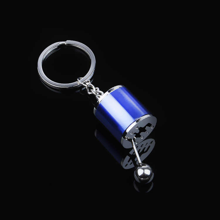 2019 Car Key Rings Car-styling Gear Knob Gear Shift Gear Stick Gear Box Metal Key Chain Keyfob Car Keyring Gift Dropshipping