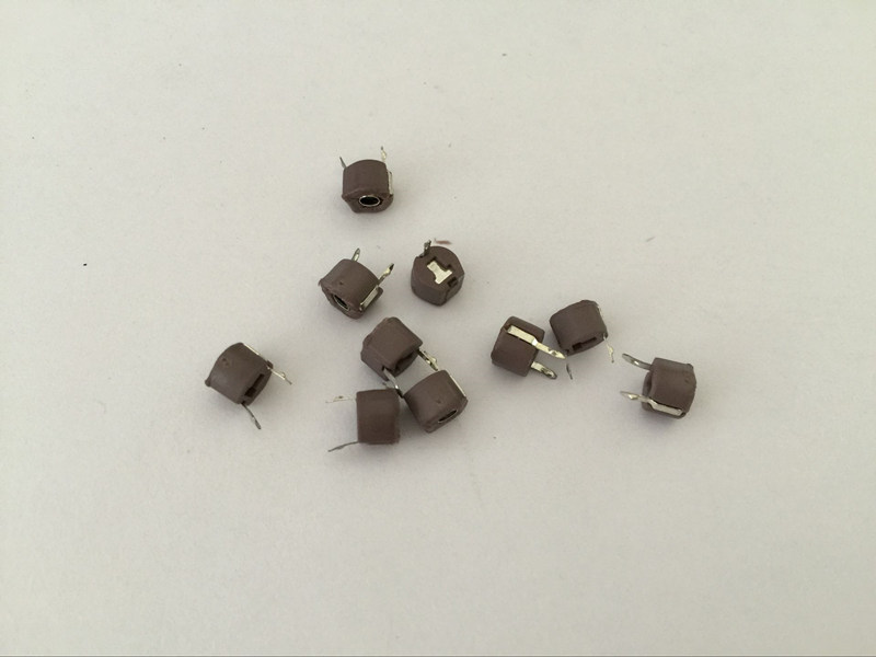 10pcs 6mm 100v Ceramic Trimmer Capacitor Variable