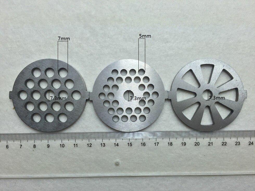 3 piece plate net knife meat grinder parts for vitek Universal variety of models 380 382 383 385 386 387 388 Etc