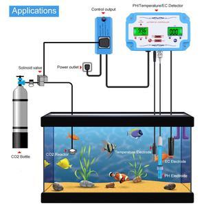 Image 4 - Yieryi 3 ב 1 pH/EC/טמפ מים באיכות גלאי pH בקר ממסר תקע Repleaceable אלקטרודה BNC סוג בדיקה מים Tester