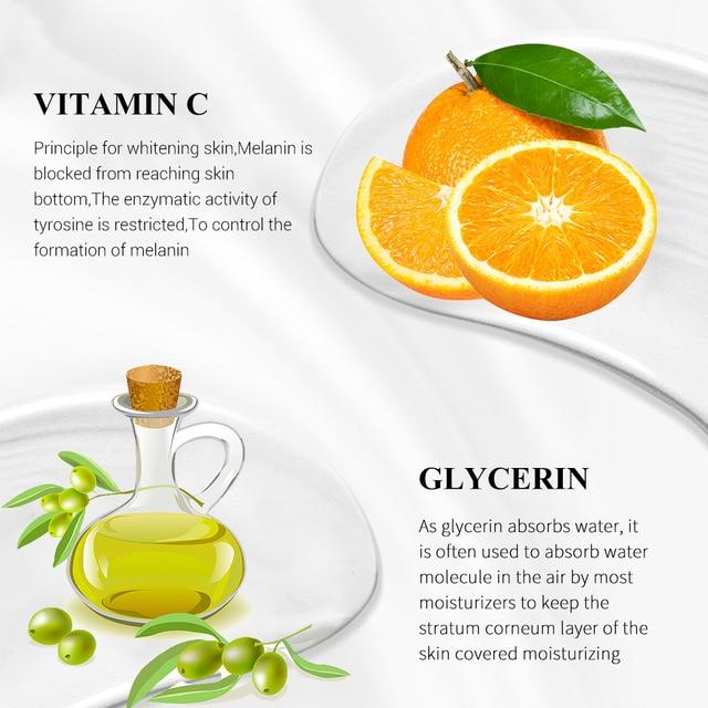 LANBENA Vitamin C Makeup Base Essence, Shrink Pores and Whitening Skin 3