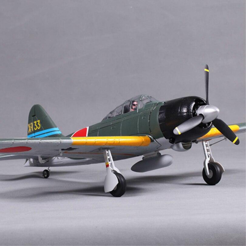 FMS 800MM Mini Warbird Zero A6M3 Fight V2 RC Airplane PNP Duralble EPO Foam Warbird Model Plane Aircraft Avion Cheap Small 2