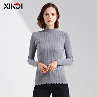 Fashion Woman Sweaters New Turtleneck Pullover Solid Knitted Lady Thick Clothes Women Sweater Pullovers Clothing