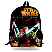 Купить с кэшбэком KOLLEGG Lego Star wars Print school bag orthopedic backpacks kids schoolbag satchel for boys teenager students mochila escolar