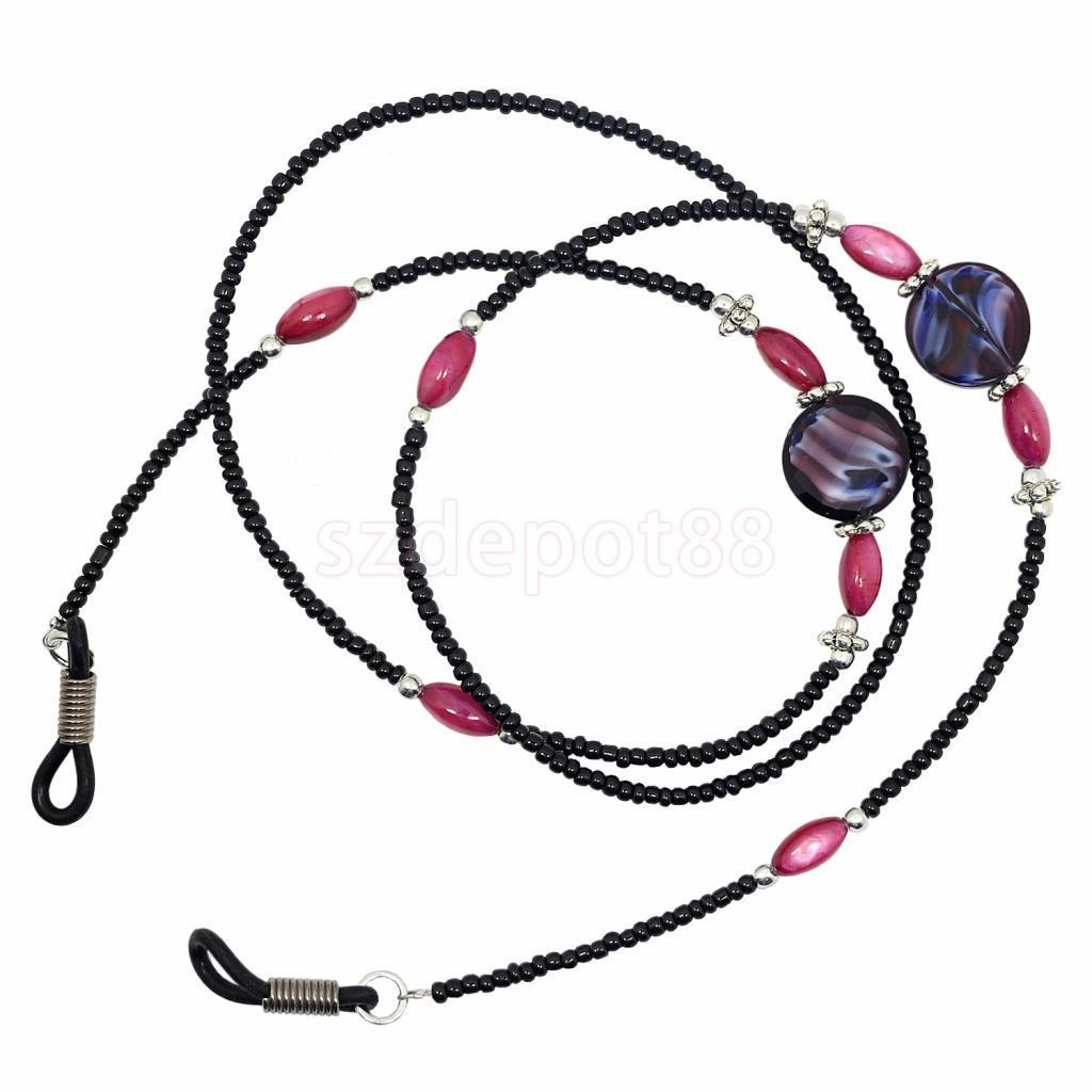 Beads Beaded Eyeglass Cord Reading Glasses Eyewear