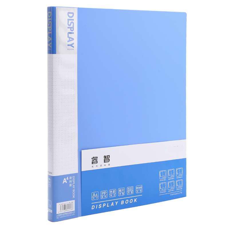 A4 File Documents Music Tabs Holding Presentation Folder 20 Pages