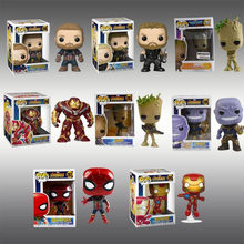 Funko pop dc marvel vingadores homem de ferro/batman 286 thor 20 deadpool figura(China)