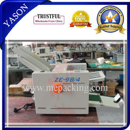 ZE-9B/2 Industrial Paper Folding Machines For Paper