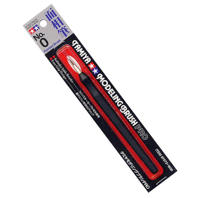 Modelo Tamiya 87072 Modelagem Escova Pro Apontou No0 OHS Passatempo Pintura Ferramentas Acessório