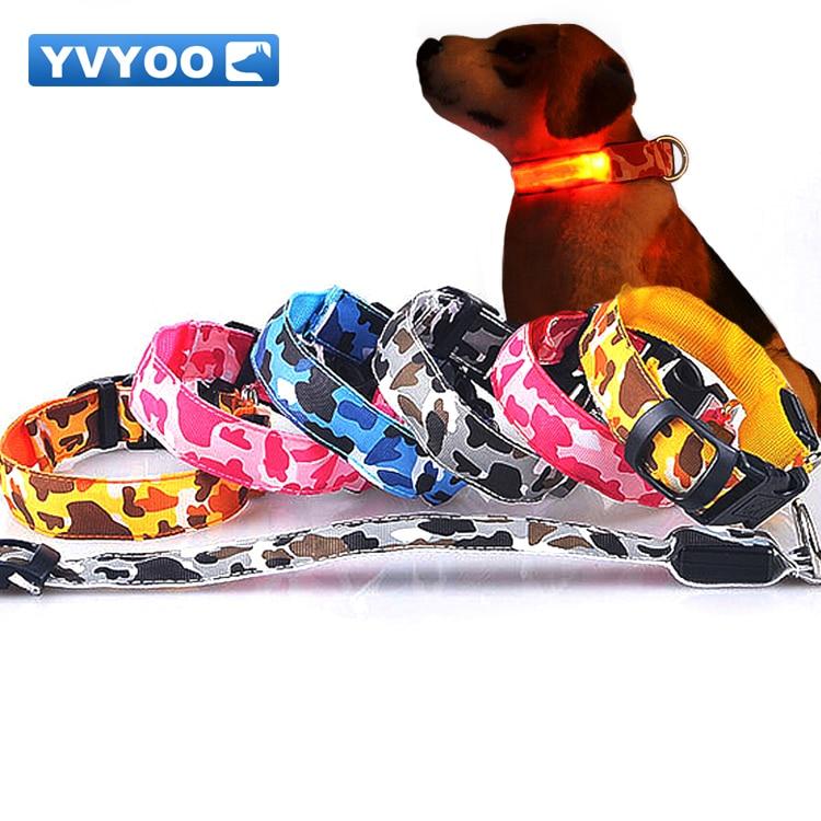 YVYOO التمويه جميل الوهج نوعية جيدة دائم - منتجات الحيوانات الأليفة